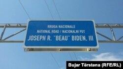 """Përgatitjet për inaugurimin e rrugës """"Beau Biden"""""""