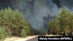 На початку місяця Луганщину вразила масштабна пожежа, яка забрала життя 5 людей
