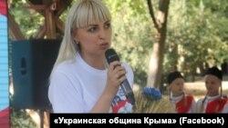 Анастасія Гридчина, голова організації «Украинская община Крыма»