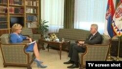 Tomislav Nikolić tokom intervjua u kojem se izvinio za zločine u BiH