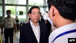 Парк Вон-Су муддати дароз шаҳрдори Сеул буд ва ӯро президенти ояндаи Кореяи Ҷанубӣ меномиданд. Акс аз соли 2015
