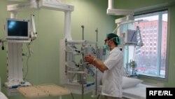 Трансплантологический центр, Минск, 8 апреля 2010 года.