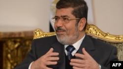 Египетскиот претседател Мохамед Морси.