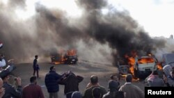 مواجهات في الاسكندرية عشية الاستفتاء على مسودة الدستور
