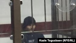 Руслан Күлекбаев сотта отыр. Алматы, 17 қазан 2016 жыл.