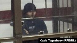 26-летний Руслан Кулекбаев, «главный» фигурант судебного процесса по нападениям 18 июля в Алматы. 17 октября 2016 года.