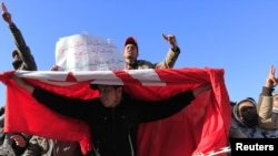 Tunisians ousted President Zine el-Abidine Ben Ali in a popular revolt in January.