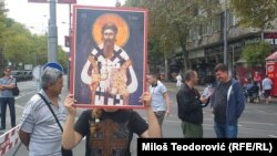 Beograd: Protest protivnika Parade ponosa