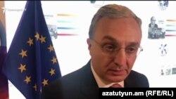 Министр иностранных дел Армении Зограб Мнацаканян