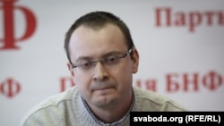 Алесь Михалевич, бывший кандидат в президенты Белоруссии