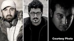 حسین رجبیان (تصویر سمت راست)، مهدی رجبیان (وسط) و یوسف عمادی