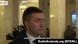 Депутат Верховної Ради України Сергій Лабазюк (скріншот з трансляції на сайті Радіо Свобода)