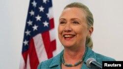 Sekretarja amerikane e Shtetit, Hillary Clinton.