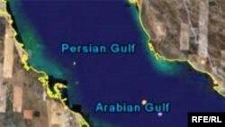 تصویری که هم اکنون از خلیج فارس در نقشه های گوگل دیده می شود.