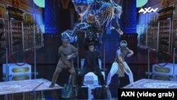 Танцевальная группа «Адем» на конкурсе Asia's Got Talent.