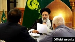 Ebrahim Raisi, the custodian of Astan Quds Razavi, a main challenger to Hassan Rouhani in Presidential election.