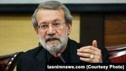 Parliament speaker Ali Larijani.