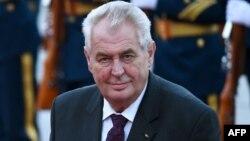 Чехия президенті Милош Земан.