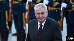 Чехиянын президенти Милош Земан