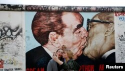 November 7 marks the 25th anniversary of the fall of the Berlin Wall.