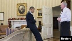 Барак Обама и Джон Бреннан