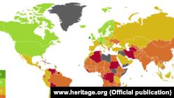 Индекс ҳар йили Heritage Foundation томонидан The Wall Street Journal билан ҳамкорликда ишлаб чиқилади.
