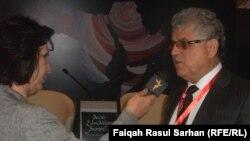 Jordan/Iraq - Undersecretary of the Iraqi Ministry of Education Hassan Salam in the Arab Education Summit in Amman, 09May2013