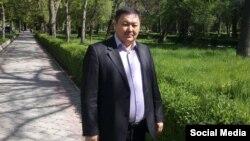 Закир Шарапов. Фото из профиля в Facebook.