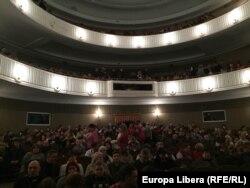 Sala teatrului N.Aronețki din Tiraspol