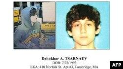 Джохар Царнаев, один из подозреваемых в организации взрывов на Бостонском марафоне. Из документа Регионального разведывательного центра Бостона.