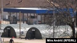 Šatori na graničnim prelazima u Bosni i Hercegovini