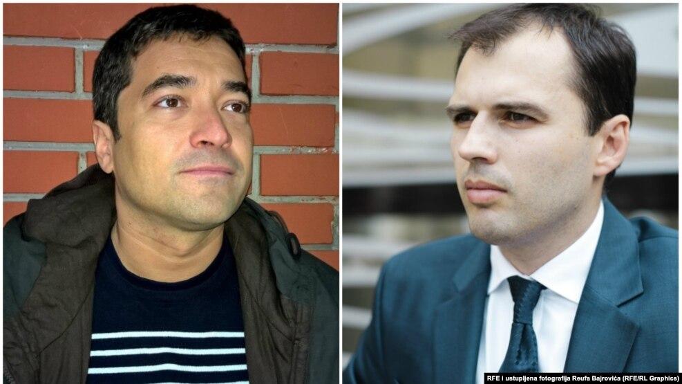 Dragan Markovina i Reuf Bajrović