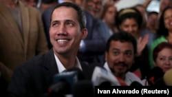 Lideri opozitar në Venezuelë, Juan Guaido.