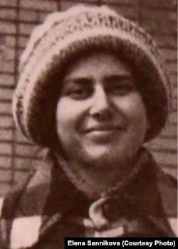 Елена Санникова в ссылке в Томске. 1985 – 1986
