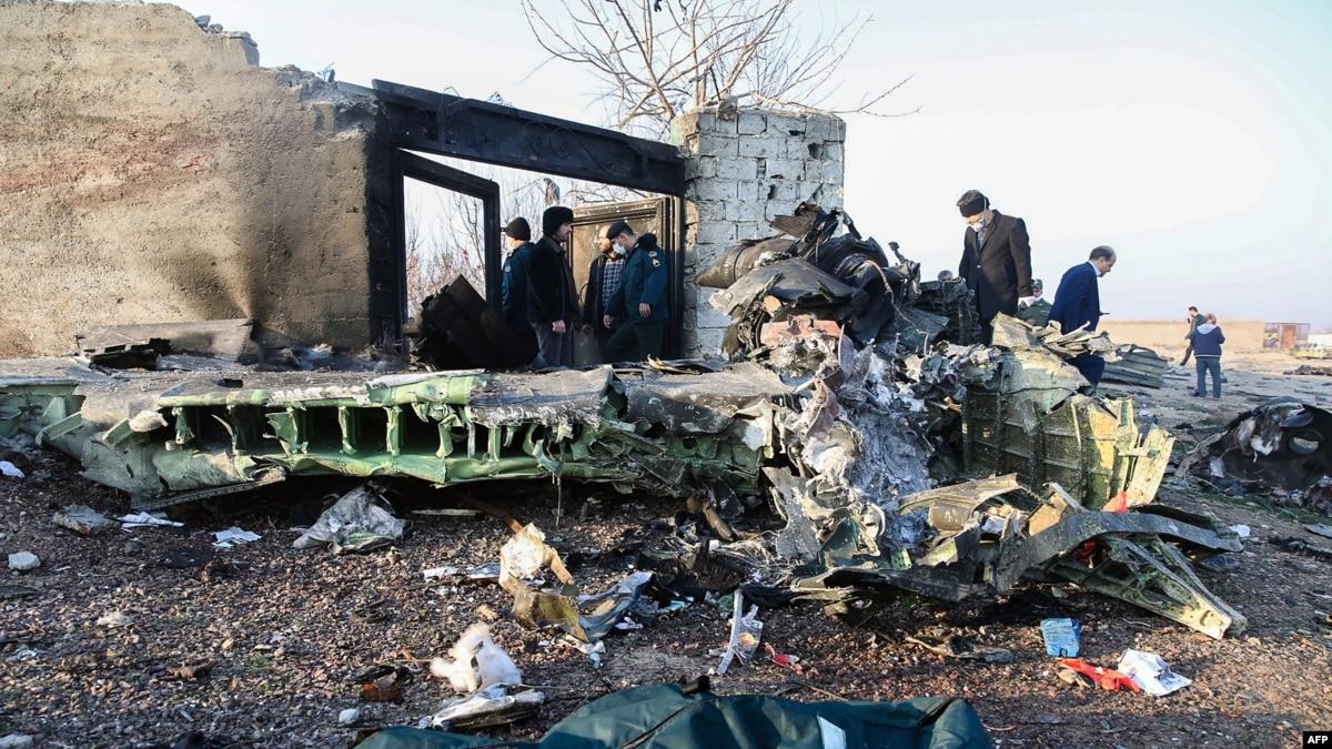 СНБО создала оперативный штаб в связи с авиакатастрофой в Иране