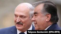 Александ Лукашенко ва Эмомалӣ Раҳмон