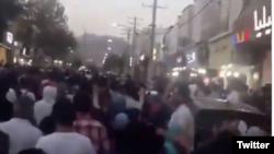 د اګست پر لومړۍ نېټه شوی احتجاج