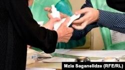 Голосование на выборах в Грузии, 8 октября 2016 г.