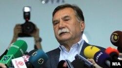 Претседател на Комисијата за 24 декмври, Борче Давитковски.