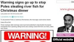 Приезжие повыуживали всех рыб из английских рек, сокрушается Mail