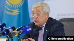Ерлан Идрисов в бытность министром иностранных дел Казахстана.