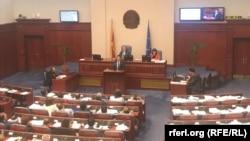 Премиерот Зоран Заев во Собрание на ратификација на договорот со Грција
