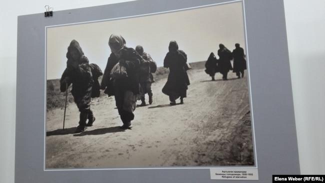 Ашаршылық кезінде босыған адамдар. Дмитрий Багаев түсірген сурет