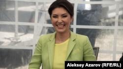 Алия Назарбаева, дочь экс-президента Нурсултана Назарбаева и генеральный продюсер фильма «Томирис».