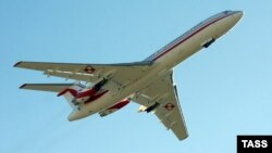 Самолёт Ту-154. Иллюстративное фото.