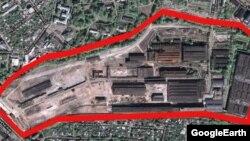 Колишній завод «Серп і Молот»