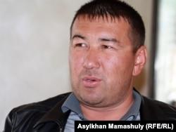 Житель Шетпе Берик Атабаев.