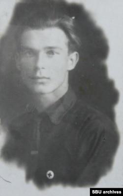 Ілля Горбань. Фото з кримінальної справи, 1948 рік