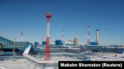 "Kompresorska stanica Atamanskaja gasovoda ""Sibirska moć"""