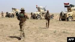 Իրաքի բանակի զինծառայողները Ֆալուջայի մերձակայքում, մայիս, 2016թ․